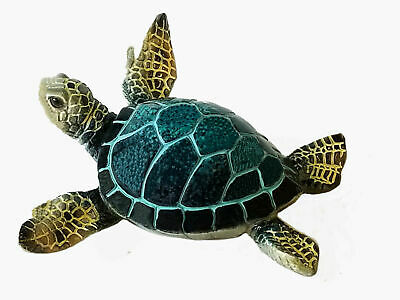 The cutest Little Blue Sea Turtle ~ Figurine