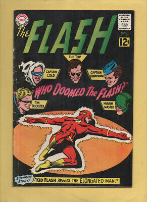 The Flash #130 Rogue's Gallery! August 1962, DC, 1959 Series VG+