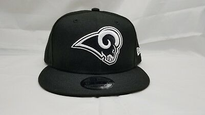 info for 50255 4212d New Era 9Fifty Snapback Hat. Nfl. Los Angeles Rams. Black.