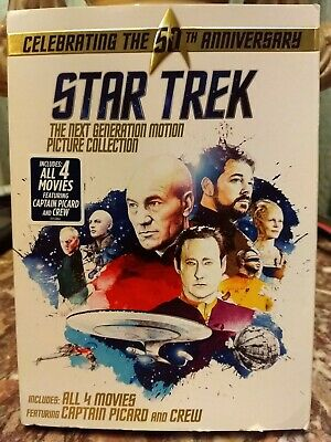 Star Trek: The Next Generation Motion Picture Collection [New DVD] Boxed Set