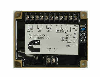3098693 Electronic Engine Speed Controller/governor for generator / Genset parts
