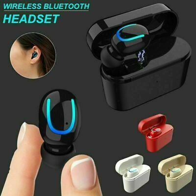3 d sound Wireless Headphones TWS True bluetooth 5.0 Stereo Earphones Headset uk