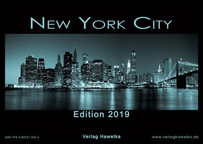 New York Kalender 2019 - Edition 2019 - DIN A3