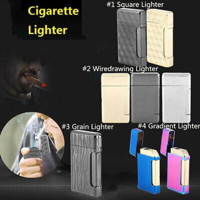 Windproof Refillable Lighter Butane Inflatable Torch Fuel Jet Flame NO Fuel New
