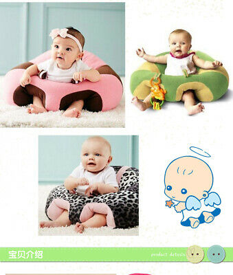 Baby Learn Sitting Chair Sofa Nursery Support Soft Seat Pillow Protector Cushion
