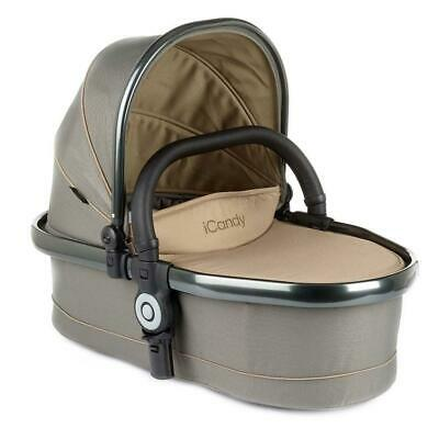 iCandy Peach Blossom Twin Carrycot - Olive / Space Grey