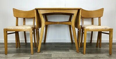 Vintage 1950/60's G Plan E Gomme Drop Leaf Dining Table and 4 Chairs