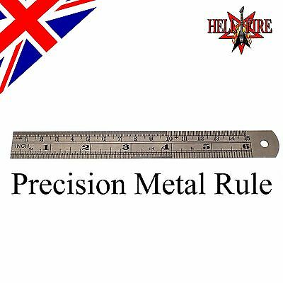 Luthiers Precision Metal Rule for Guitar String & Pickup Height Adjustments