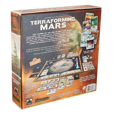 2019 New Terraforming Mars Board Game by Stronghold Games Family Party Games UK