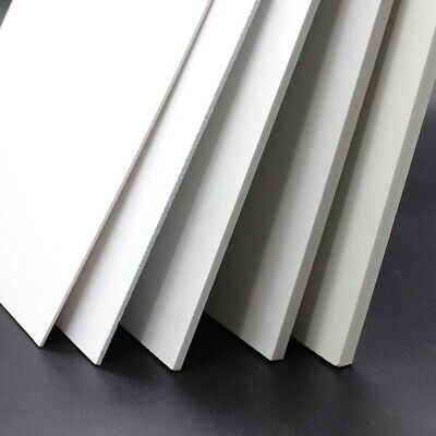 1pcs White Foam PVC Sheet Building Model Material Various Sizes