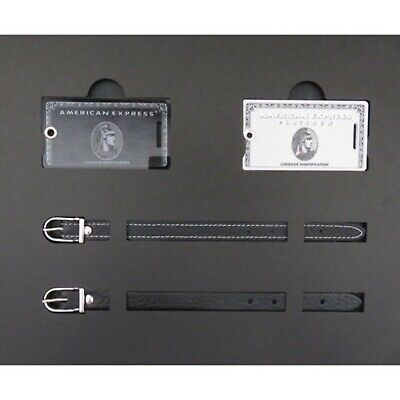 American Express Centurion Black / Platinum card holders limited baggage tag NEW
