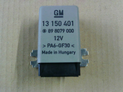 Vauxhall Meriva 03-10 Folding Door Mirror Relay  - 13150401
