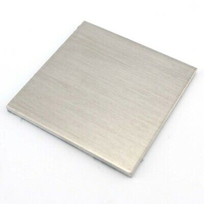 1pcs 1/1.5/2/3/4/5/6mm Thickness Aluminium Sheet Plate For DIY Model Toy Making