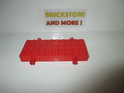 1x Brique Brick 4x10 10x4 6212 red//rouge//rot Lego