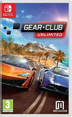 Gear Club Unlimited Nintendo Switch Brand New Sealed Official