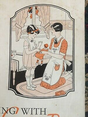 1930s Sewing With Cotton Flour Feed Bags Book ~ Designs Projects Instructions