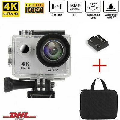 ieGeek Action Sports Cam WIFI 4K Camera 4K 16MP 170° Wasserdicht Helmkamera
