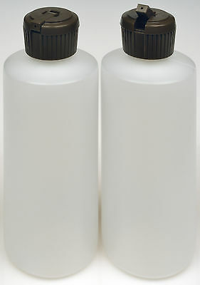 Plastic Bottles w/Applicator Lids, 4-oz., 6-Pack, New