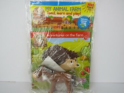 DeAgostini My Animal Farm Issue #9 Hedgehogs Brand New Maggie The Mare
