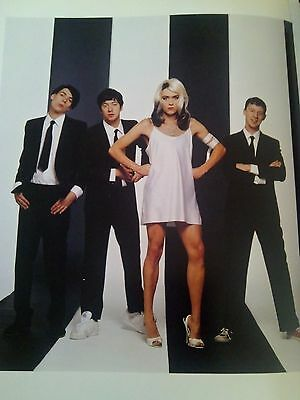 Blur as Blondie Promo Shoot Page 24 x 21cm approx Ideal to Frame