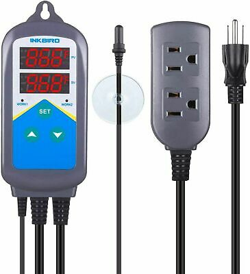 Inkbird ITC-306T Digital Plug inTemperature Controller  Marine Aquarium Heating