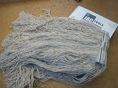 Floor Mop Head Industrial Hygiene Kentucky Cleaning Mopping 16 Oz With Code Tags