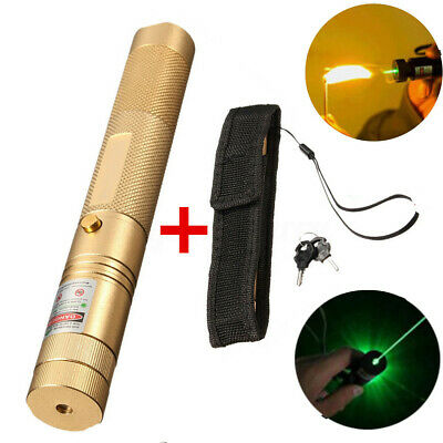 Powerful 532nm Green Laser Pointers Strong Lazer Torch Focus Burning