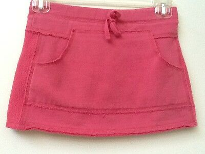 Girls OLD NAVY PINK Fleece SKORT size SMALL Yoga Scooter Skirt Shorts Skort