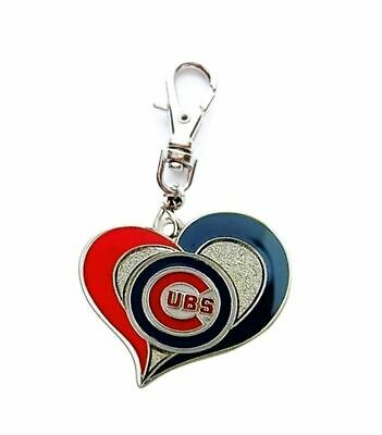 1c4f3e35afc Chicago Cubs Baseball Charm For Zipper Pull Cat Dog Collar Tag Purse Wallet  Etc