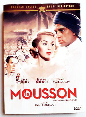 La Mousson - Lana TURNER / Richard BURTON - dvd Très bon état
