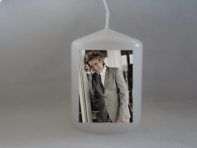 Unique Rod Stewart Candle Gift Keepsake - Gift Wrapped
