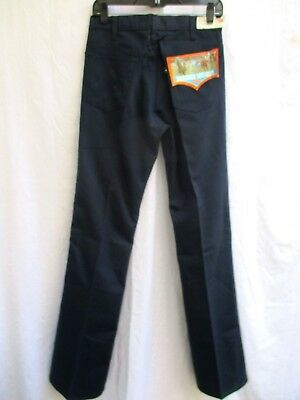 "Vtg 70'S..levis..saddleman..boot..jeans..new Old Stock..30"" X 36"""