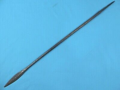 Antique Old Africa African Small Metal Spear