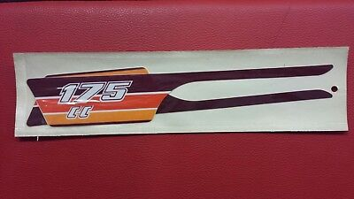 Pair Stickers KTM 175 Cc. New of the ' Old