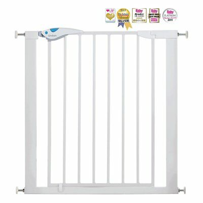 Lindam EASY FIT PLUS Stair Safety Gate Pressure Fit Baby Child Extending 76-82cm