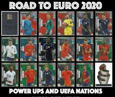 Road To Euro 2020 Power Ups  Uefa Nations League Panini Adrenalyn Xl