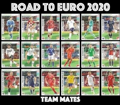 Panini Road To Euro 2020 Team Mates Adrenalyn Xl