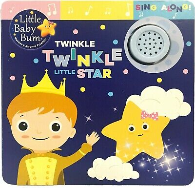 *NEW* Little Baby Bum TWINKLE LITTLE STAR: SING ALONG - Parragon *FAST SHIPPING*