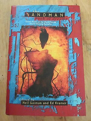 The Sandman Book of Dreams HC Ed. Neil Gaiman & Ed Kramer 1996 Hardcover