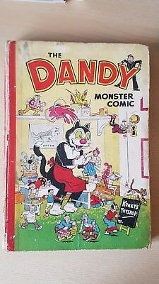 1952 THE DANDY MONSTER COMIC  in good condition please see pics
