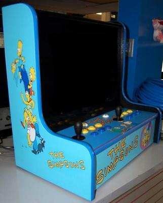 BarTop Jamma Cabinet Multiple Game Arcade! Simpsons, X-Men,TNMT,Tapper, Pandora