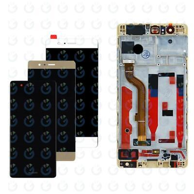 Display Lcd + Touch Screen Per Huawei P9 EVA-L09 Vetro Schermo + Frame AAA