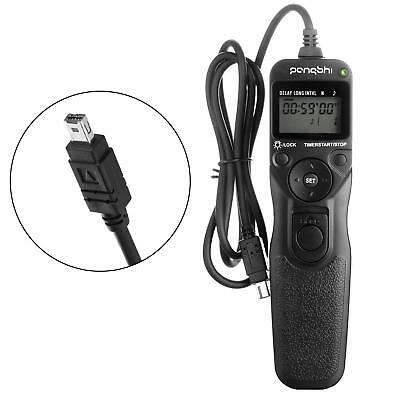 Shutter Release for Nikon, PANGSHI MC-DC2 LCD Wired Timer Remote Control Cameras