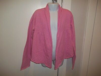 girls pink long sleeved cardigan from next aged 8yrs in good condition