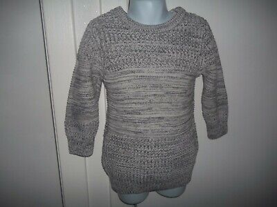 boys grey fleck jumper from next aged 3yrs in v good condition