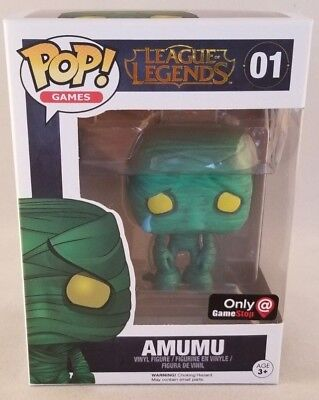 Funko Pop! Games League of Legends Amumu #01 Game Stop Exclusive