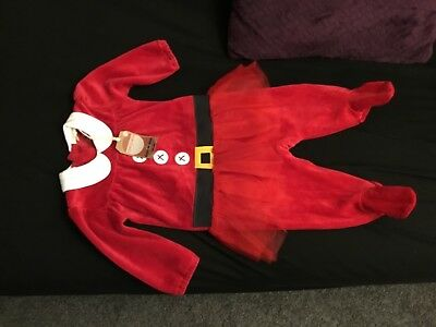 Baby Girls Next Xmas Outfit 3-6 Months Bnwt
