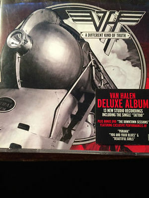 Van Halen Different Kind Of Truth Cd + Dvd New +Extras Deluxe Edition Fast Post