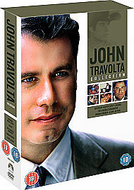 The John Travolta Collection DVD boxset 5 dvds Inc Grease/Saturday night fever.