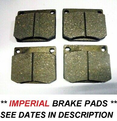 MORGAN Plus 8   FRONT BRAKE PADS   (** Oct 68- 73 Only **)